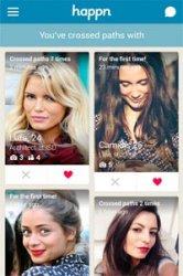 Happn er en meget interessant dating app: