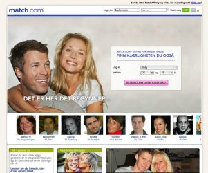 match.com internasjonal